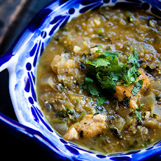 Tomatillo Chicken Stew