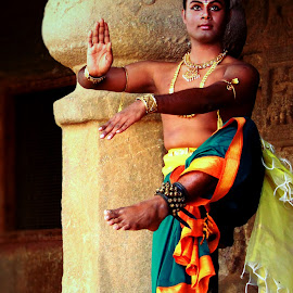Nataraja roop by Amit Bhattacharjee - People Musicians & Entertainers ( pandav caves, bharatanatyam, performer, dance, dancer )