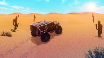 Screenshot of 4x4 Offroad Desert 3D