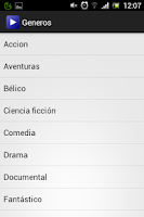 Screenshot of Cinefilia - Películas gratis