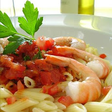Penne With Shrimp and Spicy Tomato Sauce
