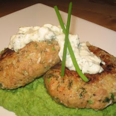 Tuna Pabucas (Patties) With Two Radish-Caper Sauce