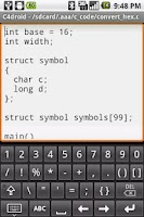 Screenshot of Programmers Keyboard