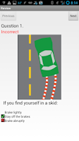 Screenshot of WI DMV Driver Practice Test
