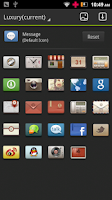 Screenshot of Luxury GO Launcher Theme