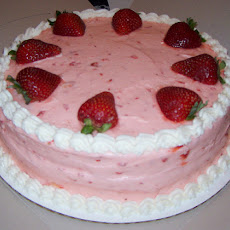 Hazel's Frozen Strawberry Cake