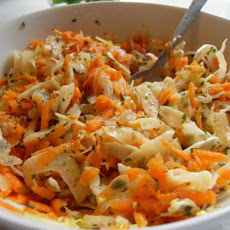 Carrot and Fennel Slaw