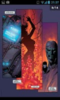 Screenshot of Comics Reader