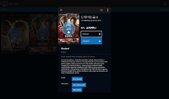 Screenshot of O2TV Go