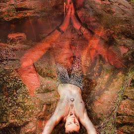 by Tiffany Luptak - Digital Art Abstract ( water )