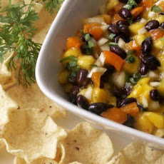 Black Bean Mango Salsa