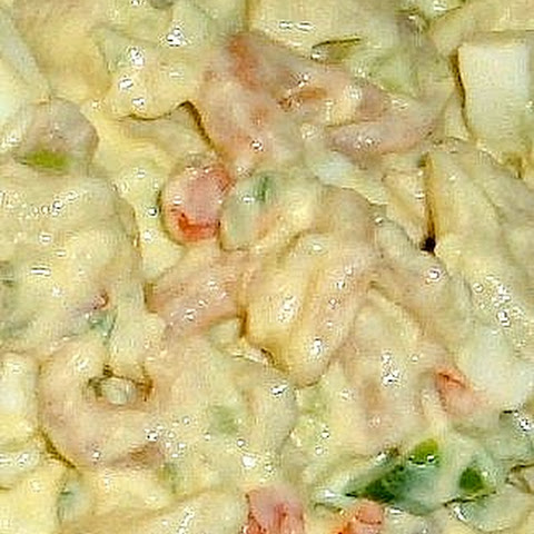 AUNT LINDA'S SHRIMP AND MACARONI SALAD