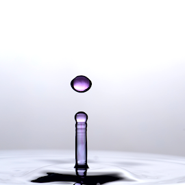Water Droplet Collision by Micah Jaron Flack - Abstract Water Drops & Splashes ( water, water collision, droplet, water droplet collision, water droplet )