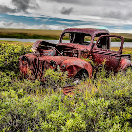 Built to Last by Robert Arrington - Transportation Automobiles ( cars, alaska, nome, antiques,  )