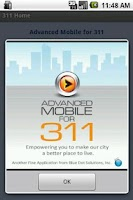 Screenshot of Advanced Mobile for 311