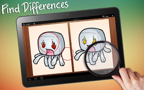 Find Differences Minecraft - screenshot