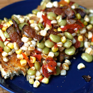 Summer Succotash with Bacon