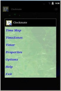 Clockmate Android - screenshot