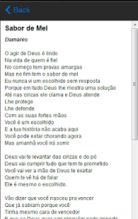 Damares Letras - screenshot