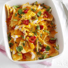 Homemade Chicken Nachos