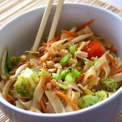 Asian Noodle Salad With Roast Beef And Soy-ginger Dressing