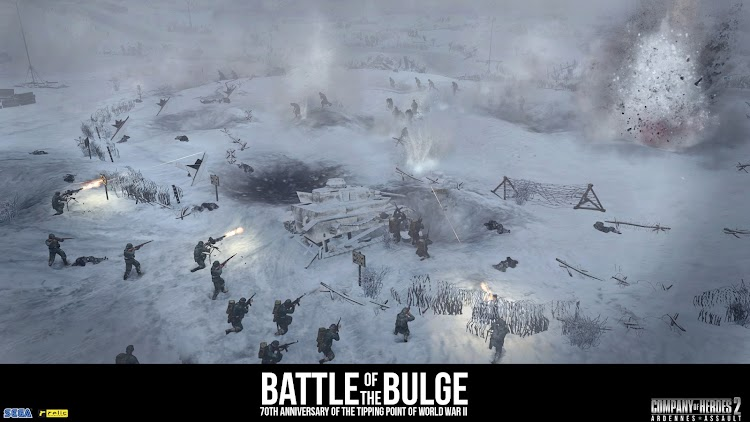 New Company Of Heroes 2: Ardennes Assault trailer recognizes the 70th anniversary of the Battle of the Bulge