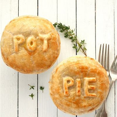 Beef, Beer and Blue Cheese Pot Pies