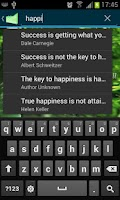 Screenshot of Success Quotes