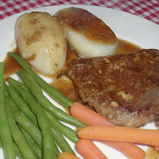 Dijon Steak
