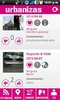 Screenshot of Urbanizas