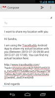 Screenshot of Trace Buddy