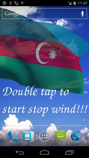 3D Azerbaijan Flag LWP +