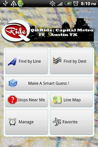 QikRide: Capital Metro Austin