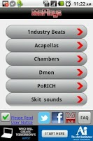 Screenshot of Instrumental Rap Beats