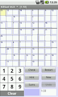 Screenshot of KillSud - killer sudoku