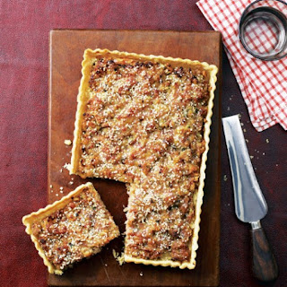 Sage And Onion Sausage Tart