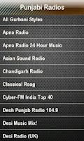 Screenshot of Punjabi Radio - Desi Bollywood