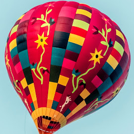Colorful Hot Air Balloon.. by Vishal Bhatnagar - Artistic Objects Technology Objects