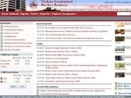 Screenshot of TCMB  Günlük Kur Döviz