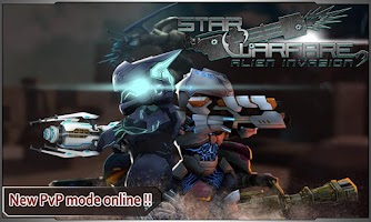 Screenshot of Star Warfare:Alien Invasion HD