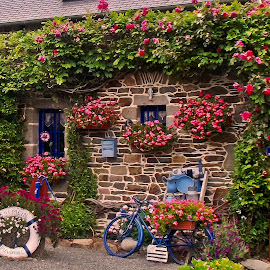 Exterieur breton by Ciprian Apetrei - Buildings & Architecture Other Exteriors ( building, decoration, exterior, traditional, brittany )