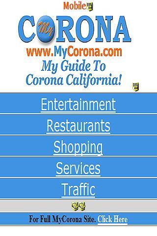 Corona California Guide