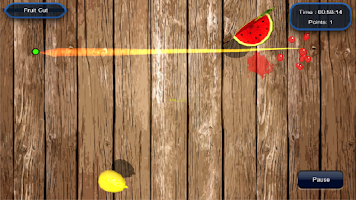 Screenshot of Fruit Cut Saga
