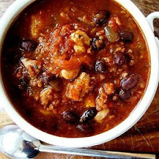 Chunky Chicken and Chorizo Chili