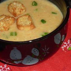 Three Cheese and Beer Soup