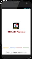 Screenshot of OHVui TV Panama