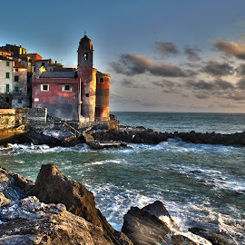 Tellaro by Dario Tarasconi - City,  Street & Park  Neighborhoods ( mare, lerici, tellaro, hdr, liguria, sea, italy )