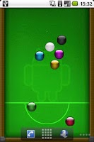 Screenshot of Billiards Live Wallpaper