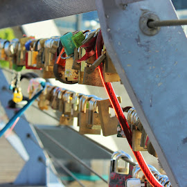 love locks by Kaushik Pichumani - Artistic Objects Other Objects
