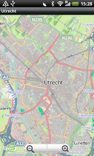Utrecht Street Map